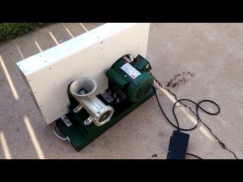 #22 motorized meat grinder pt 2 safety upgrades
