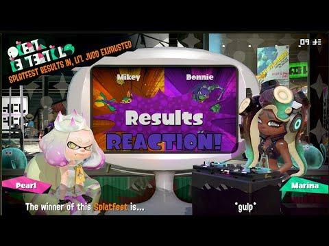 Splatoon 2 Splatfest #11 (Mikey VS Donnie) Results Reaction [ROUND 2 OF 3]
