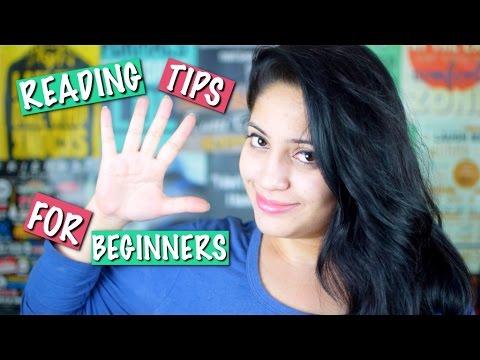 5 Book Reading Tips For Beginners | Booktuber