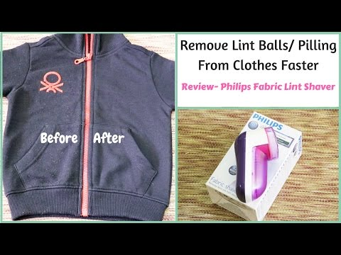 Best Way To Remove Lint From Clothes - Philips Fabric Shaver
