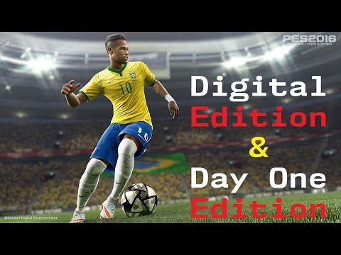 PES 2016 | ¿Reserva Digital o Day One Edition?