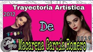 Trayectoria Artística de Macarena Garcia.