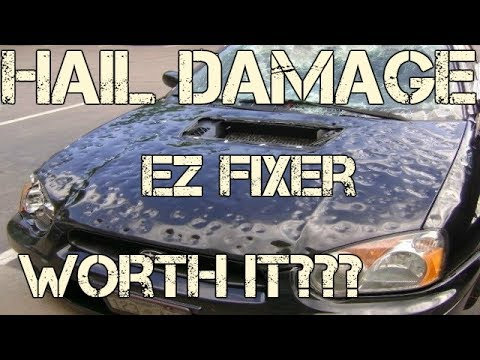 SALVAGE HAIL DAMAGE CAR CHEAP! NEW Mustang GT Destroyed easy to fix but is it worth a rebuild?