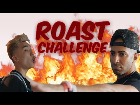 fouseyTUBE vs. RICEGUM! Roast Yourself Challenge (DISS TRACK)
