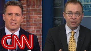Cuomo grills Mulvaney: What is Trump