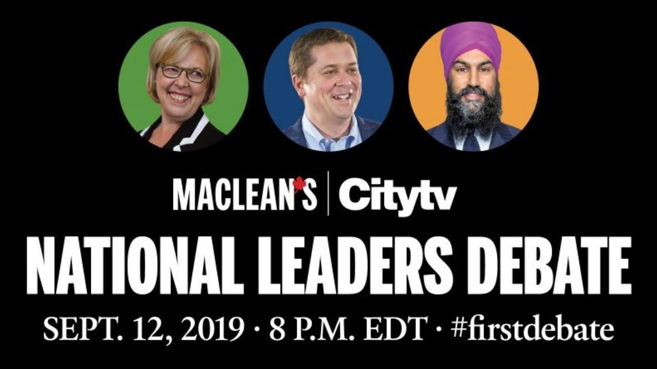 Maclean's and Citytv National Leaders Debate