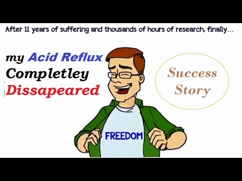 My Success Story to Get Rid of Acid Reflux and Heartburn