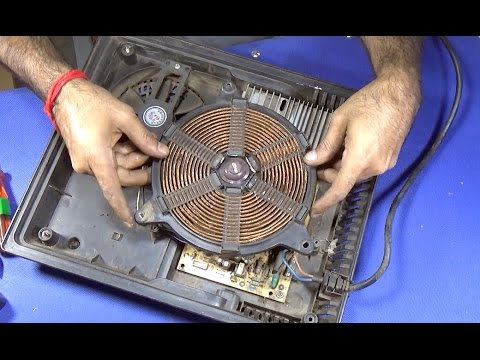 How To Repair E3, E5, E7 And Not Heating Fault Of A Induction Cooker