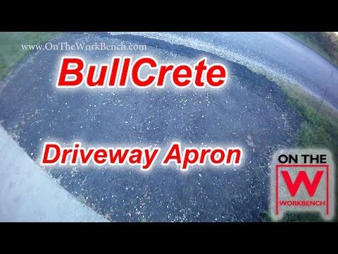 Paving a Driveway Apron with Bullcrete & Wacker Neuson Plate Compactor