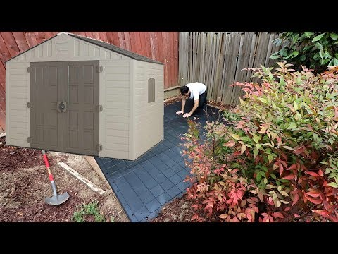 10 ft. x 8 ft. Keter Stronghold Resin Storage Shed How to, Tips, Review