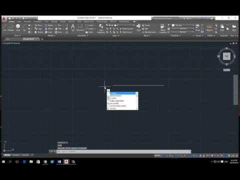 Autocad how to start a line from a point on a line