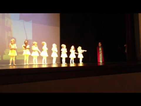 Edans dance rehersal June 2012