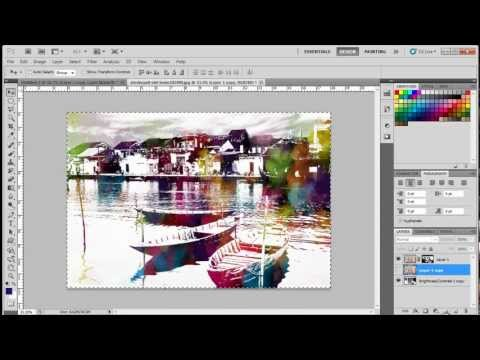 How to Create a Watercolor Effects in Adobe Photoshop CS5