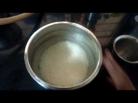 How to cook white rice in tamil