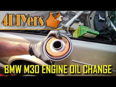 DIY: BMW M30 Engine Oil Replacement