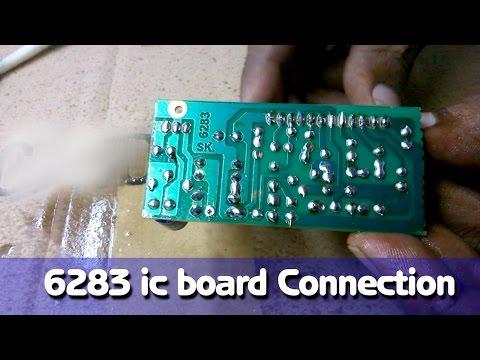 6283 IC Board Connection DIY Hindi Electronics [ ELECTRO INDIA ]