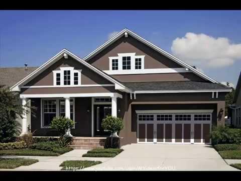 Home exterior paint color schemes ideas