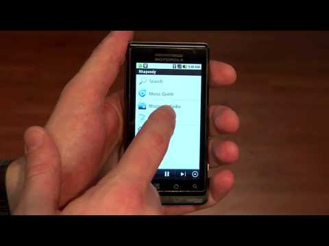 Rhapsody for Android- Offline Playback