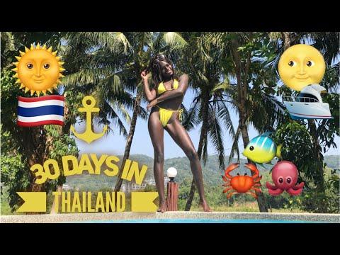 Thailand in One Month pt.2 | Krabi, Koh Tao, Koh Samui & Koh Pha-ngan