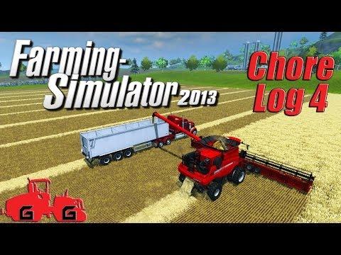 Farming Simulator 2013: Chore Log 4 - Harvest time!