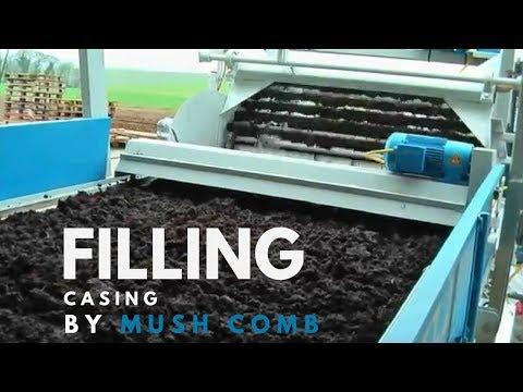 Mushroom Machinery - Effective Filling of Casing with Basic Mushroom Machinery
