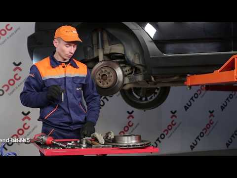 How to replace rear brake discs and rear brake pads on BMW X3 E83  TUTORIAL | AUTODOC
