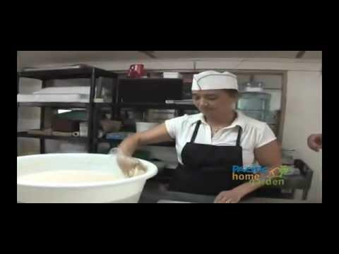 Manha Titiyas (sweet coconut tortillas) from the island of Guam