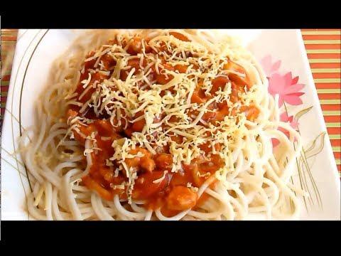 Spaghetti Jollibee Pinoy Style