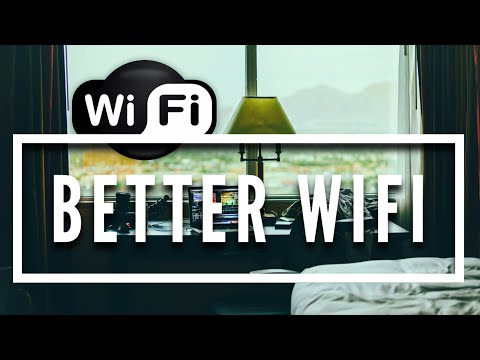 Get BETTER Wireless Internet in a Hotel