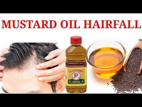 HAIRFALL SOLUTION BY MUSTARD OIL   सरसों के तेल से बालों का झड़ना रोकें