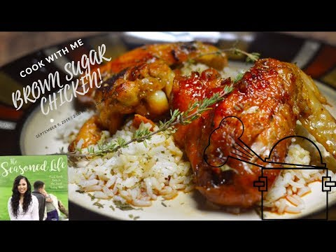 |Cook With Me! | Ayesha Curry's Brown Sugar Chicken