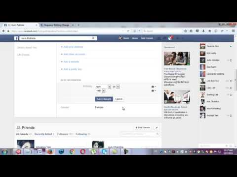 How To Change Facebook DOB Without Waitng Few Days