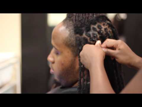 How To Two Strand Twist Loc Style