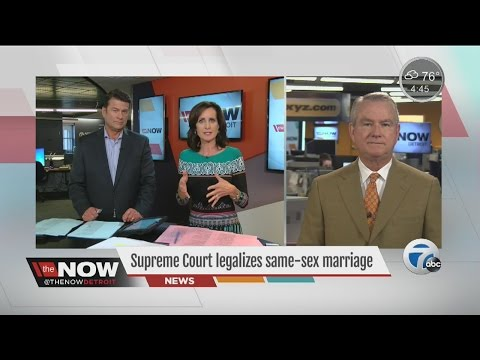 Legal significance of gay marriage ruling