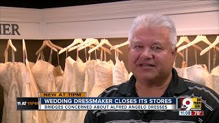 Alfred Angelo stores close suddenly