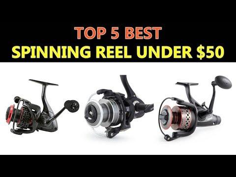 Best Spinning Reel Under $50 - 2018