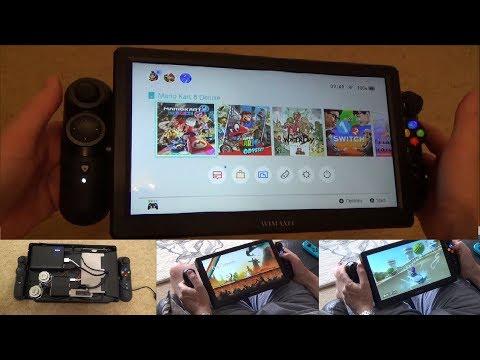 DIY Nintendo Switch Pro XL enclosure