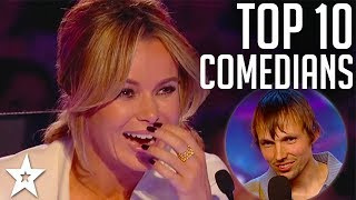 TOP 10 Funniest Comedians EVER on Britain