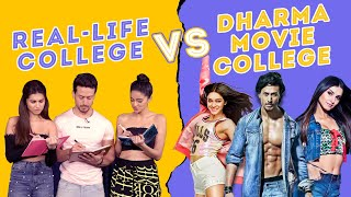 Download SOTY 2 | Real College Life Vs Dharma Movie College Life Ft. Tiger Shroff, Ananya Panday & Tara Video