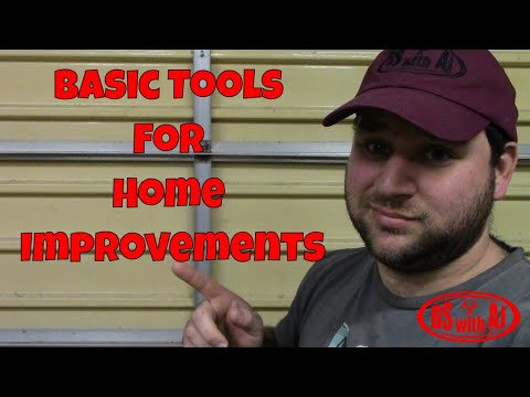 Basic Tools For Home Improvements