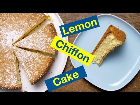 Lemon Chiffon Cake Recipe || Le Gourmet TV Recipes