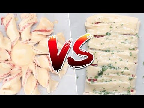 Pizza Braid VS Pizza Twists Review- Buzzfeed Test #91