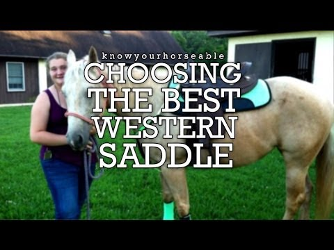 Choosing the Best Western Saddle