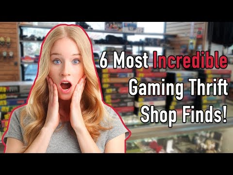 6 Most Incredible Gaming Thrift Shop Finds