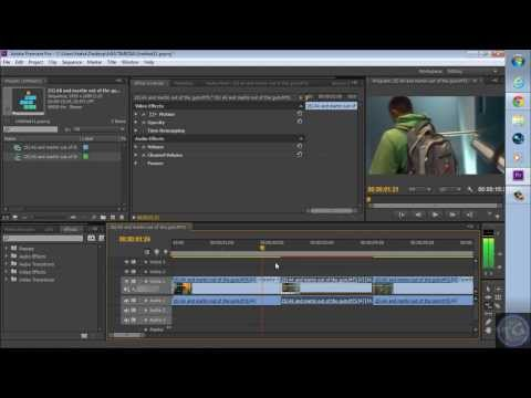 How To Slow Down A Clip In Adobe Premiere Pro