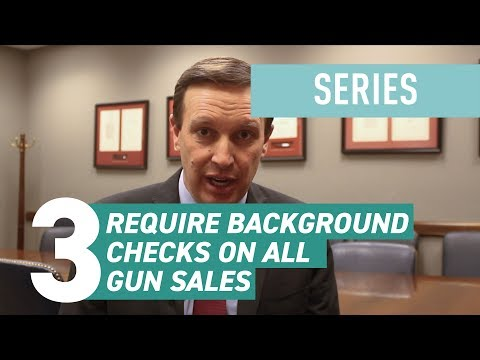 How to Reduce Gun Violence in America: Require Background Checks