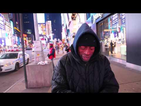 Fred Thompson street performer extraordinaire.