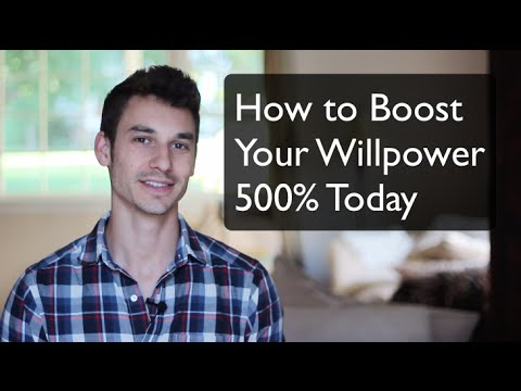 How to Boost Your Willpower 600%
