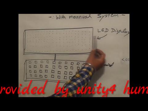 HOW MAKE LED BOARD PROPELLER  DISPLAY कैसे LED board प्रदर्शन करें.