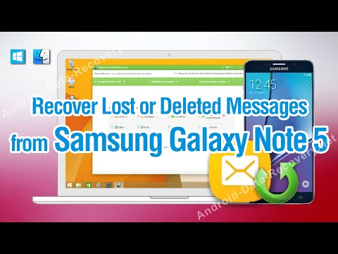 How to Recover Lost or Deleted Messages from Samsung Galaxy Note 5